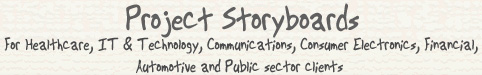 Project Storyboard for Video and Multimedia producers - home- Basingstoke, Hampshire